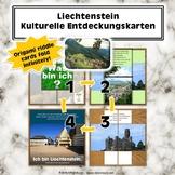 Liechtenstein Kulturelle Entdeckungskarten (German Cultural Discovery Card Kit)
