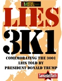 Lies 3K1: An Investigation Commemorating the 3,001st Lie Told By Donald Trump