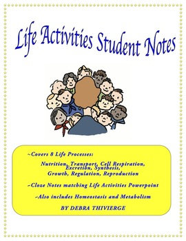 Life Activities Student Notes