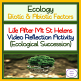 Life After Mt St Helens: Video Reflection Activity
