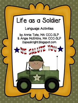 Life As A Soldier: Language Activities
