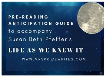 Life As We Knew It - Anticipation Guide