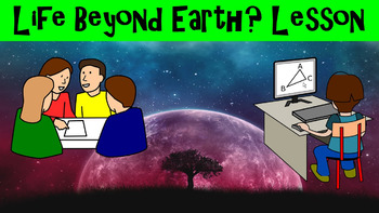 Life Beyond Earth? No Prep Lesson w/ Power Point, Workshee
