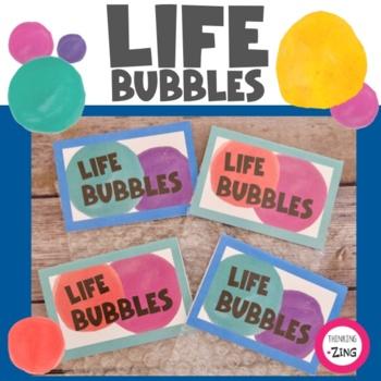 Life Bubbles- Bucket List Activity