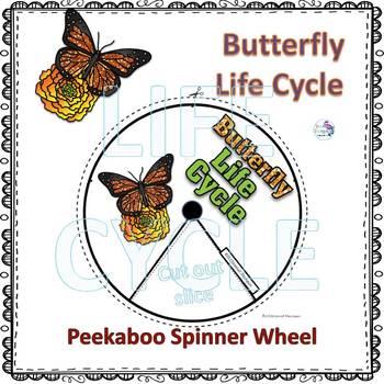 "Butterfly ""Life Cycle"" (Peekaboo Spinner Wheel)"