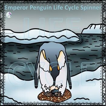 Emperor Penguin (Life Cycle Spinner)