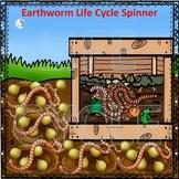 Earthworm (Life Cycle Spinner)