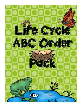 Life Cycle ABC Order Pack