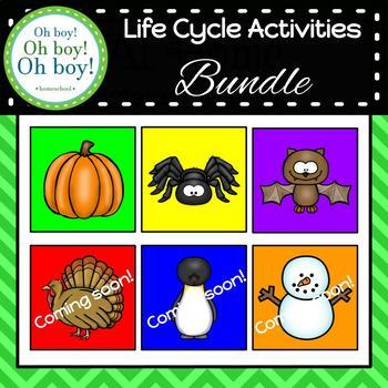 Life Cycle Activity Bundle