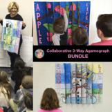 Life Cycle 3-way Agamographs Collaboration Posters BUNDLE