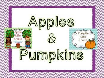 Life Cycle BUNDLE {Apple, Pumpkin, Frog, Chick, Plant and Butterfly}