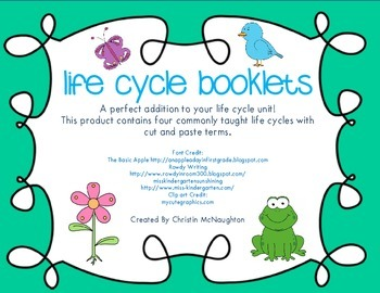 Life Cycle Booklet