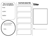 Life Cycle Brochure Template Organizer
