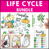 Life Cycle Bundle 3 Science Packs on Plants Chickens and Butterflies