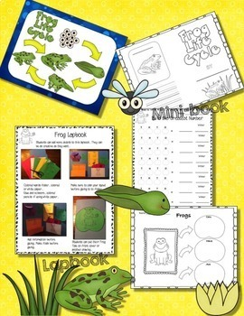 LIFE CYCLE BUNDLE  4 Complete Units (Plants, Chickens, Ladybugs, and Frogs)