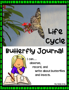 Life Cycle Butterfly Journal