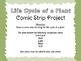 Life Cycle Comic Strip Project with Rubric