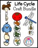 Life Cycle Craft Bundle for Kindergarten (Spring, Summer, Autumn)