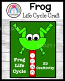 Frog Life Cycle Craft for Kindergarten (Spring Weather)