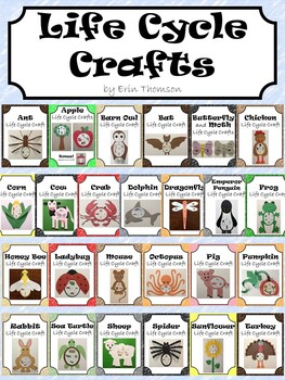 Life Cycle Crafts ~ The Bundle