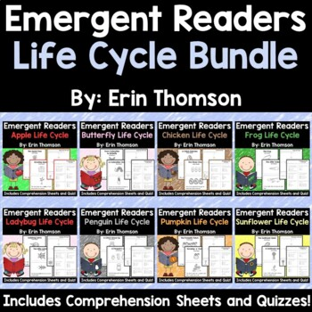 Life Cycle Emergent Readers ~ The Bundle