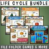 Life Cycle File Folder Game BUNDLE