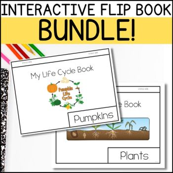Life Cycle Flip Book - BUNDLE!