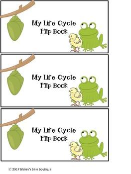 Life Cycle Flipbook