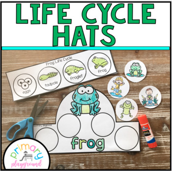Life Cycle Hats Cut and Glue