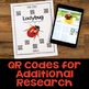 Life Cycle: Informational Articles, QR Code Research Pages & Fact Sorts