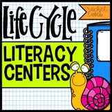 Life Cycle Literacy! 6 activity centers for ELA and Science! Common Core aligned
