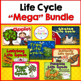 LIFE CYCLES: Plants, Frogs, Butterflies, Ladybugs, Pumpkin