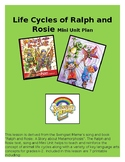 "Video+ 7 Printable activities! Lifecycle song/mini unit for ""Ralph and Rosie""."
