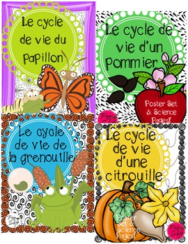 Life Cycle Posters Bundle ~ French