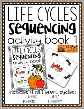 Life Cycle Sequences {Activity Book 1}