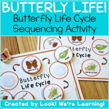 Life Cycle Sequencing Activity: Butterfly Life!