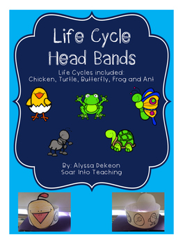 Life Cycle Sequencing Headbands {Animal}