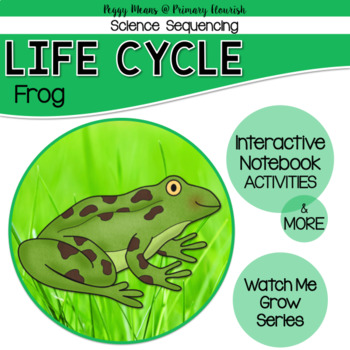 Life Cycle Sequencing Interactive Notebook Activities & More {Frog}