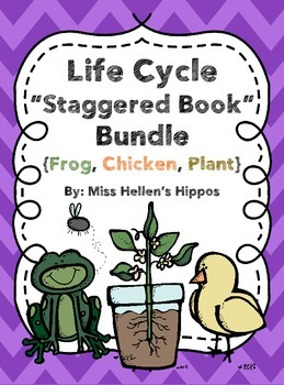 Life Cycle Staggered Book Bundle