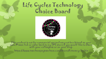 Life Cycle Technology Choice Board