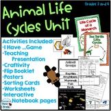 Animal Life Cycles Bundle - Third Grade