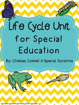 Life Cycle Unit for Special Education