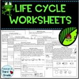 Life Cycle Worksheets