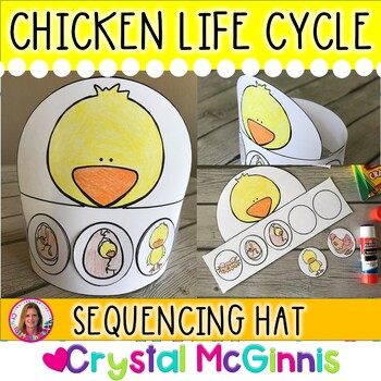 Life Cycle of A Chicken Hat (Sequencing Activity)