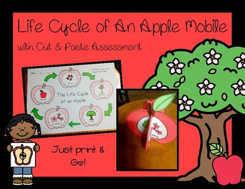 Life Cycle of An Apple Mobile with Cut & Paste Assessment