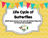 Life Cycle of Butterflies- Einstein Project- Smart Board Lessons