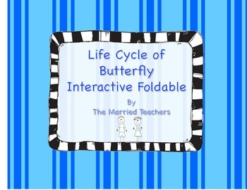 Life Cycle of Butterfly Science Interactive Foldable