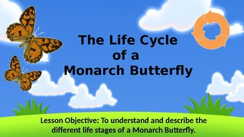 Life Cycle of Monarch Butterfly + Short Interactive Quiz