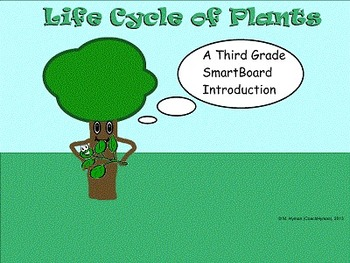Life Cycle of Plants - A Third Grade SmartBoard Introduction