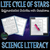 Life Cycle of Stars - Science Literacy Article